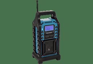 BLAUPUNKT BSR-10 Baustellenradio Baustellenradio, PLL Tuner, Bluetooth, Schwarz/Blau