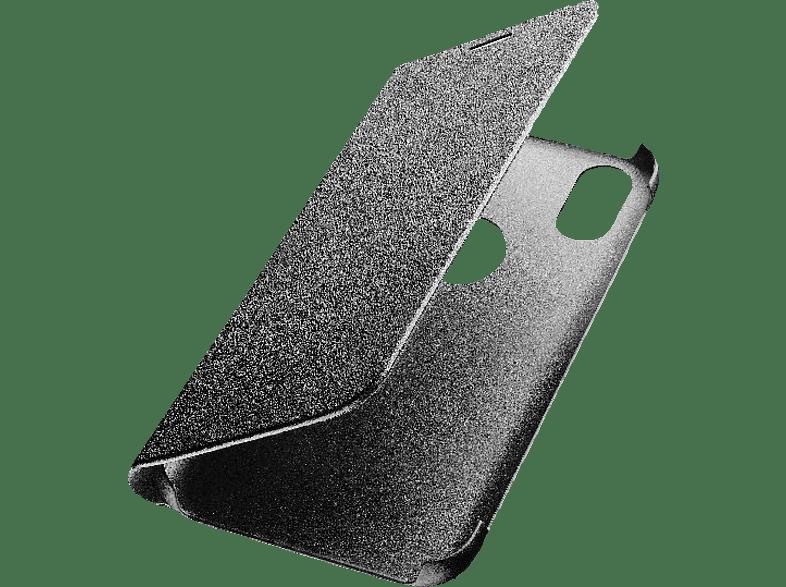 CELLULAR LINE Book Case , Bookcover, Huawei, Y6 (2019), Kunstleder, Schwarz
