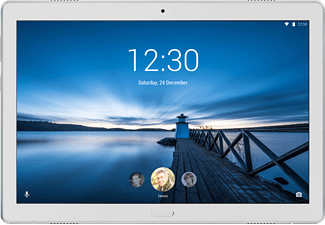"Tablet - Lenovo Tab P10, 32 GB, Blanco, WiFi, 10.1"" HD, 3 GB RAM, Snapdragon 450, Android"