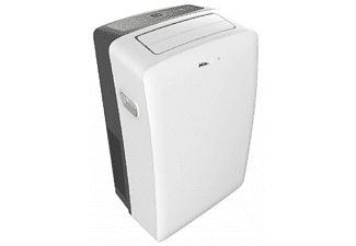 Aire acondicionado portátil - Hisense APC12, 3010 frigorías, 3 niveles, Deshumidificación, Clase A