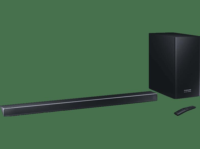 SAMSUNG HW-Q70R/ZG, Soundbar, Slate Schwarz/Carbon Silber