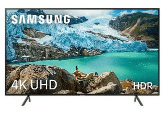 "TV LED 55"" - Samsung 55RU7105, 4K UHD Real, HDR, Smart TV, Bluetooth, Solución cables ordenados"