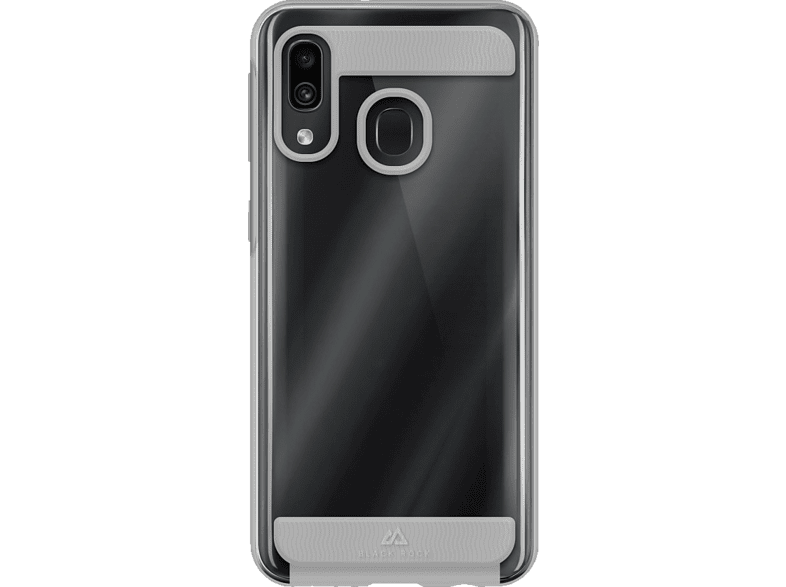 BLACK ROCK Air Robust , Backcover, Samsung, Galaxy A40, Polycarbonate, Thermoplastisches Polyurethan, Transparent