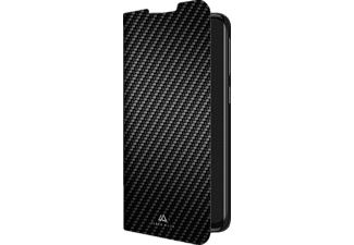 BLACK ROCK Flex Carbon, Bookcover, Samsung, Galaxy A40, Schwarz