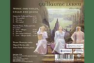 Bruno Monteiro, Miguel Rocha, Joao Paulo Santos - Lekeu:Music For Violin,Cello And Piano [CD]