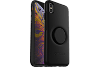OTTERBOX Otter + Pop Symmetry , Backcover, Apple, iPhone XS Max, Kunststoff, Schwarz