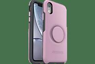 OTTERBOX Otter + Pop Symmetry , Backcover, Apple, iPhone XR, Kunststoff, Pink