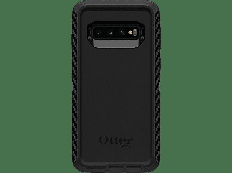 OTTERBOX Defender , Kompakttasche, Samsung, Galaxy S10, Polycarbonat, viskoelastischer Schaum, Schwarz