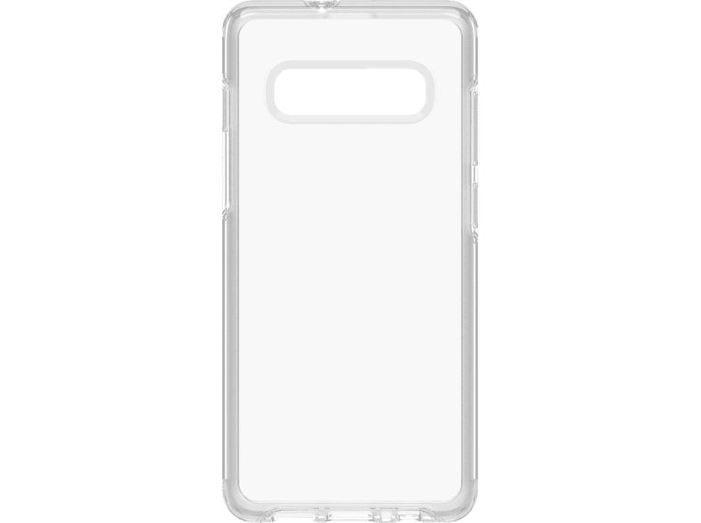 OTTERBOX Symmetry , Backcover, Samsung, Galaxy S10+, Polycarbonat, Silikon, Transparent