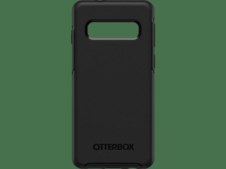 OTTERBOX Symmetry , Backcover, Samsung, Galaxy S10, Polycarbonat, Silikon, Schwarz