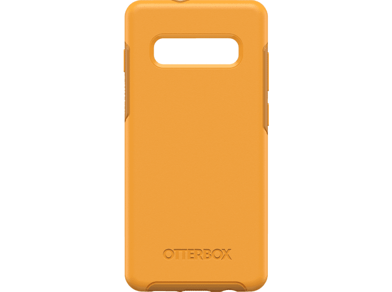 OTTERBOX Symmetry , Backcover, Samsung, Galaxy S10+, Polycarbonat, Silikon, Gelb