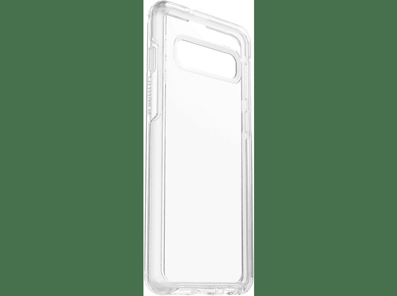 OTTERBOX Symmetry , Backcover, Samsung, Galaxy S10, Polycarbonat, Silikon, Transparent