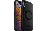 OTTERBOX Otter + Pop Symmetry , Backcover, Apple, iPhone X, iPhone XS, Kunststoff, Schwarz