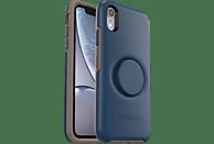 OTTERBOX Otter + Pop Symmetry , Backcover, Apple, iPhone XR, Kunststoff, Blau