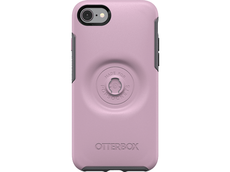 OTTERBOX Otter + Pop Symmetry , Backcover, Apple, iPhone 7/8, Kunststoff, Pink