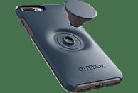 OTTERBOX Otter + Pop Symmetry , Backcover, Apple, iPhone 7+/8+, Kunststoff, Blau