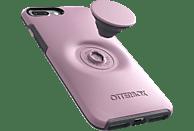 OTTERBOX Otter + Pop Symmetry , Backcover, Apple, iPhone 7+/8+, Kunststoff, Pink