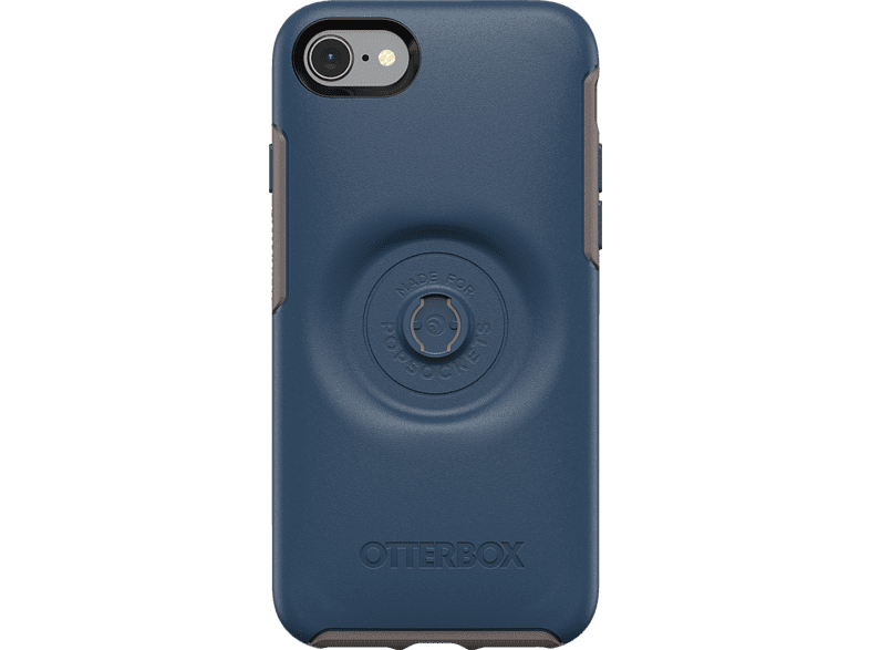 OTTERBOX Otter + Pop Symmetry , Backcover, Samsung, iPhone 7/8, Kunststoff, Blau