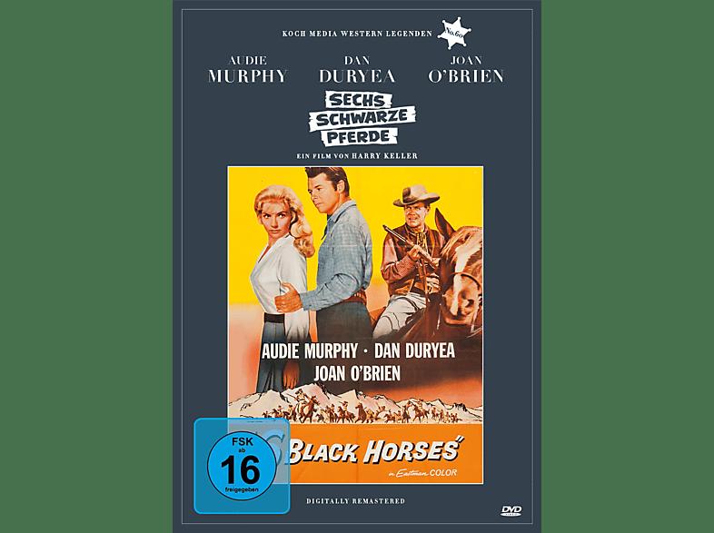 Sechs schwarze Pferde [DVD]