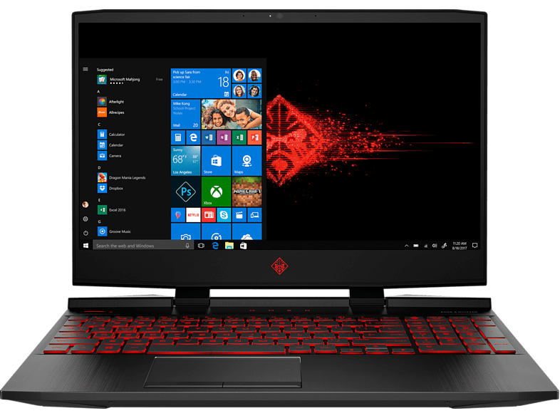 HP Gaming laptop OMEN 15-dc0101nb Intel Core i5-8300H 15.6″ (4CL09EA#UUG)