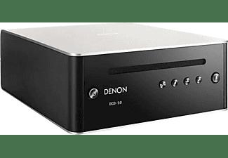 Reproductor CD - Denon DCD - 50 BK, Display OLED, Plata