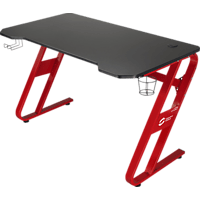 SPEEDLINK SCARIT Gaming Desk, black-red Gaming-Tisch, Schwarz/Rot