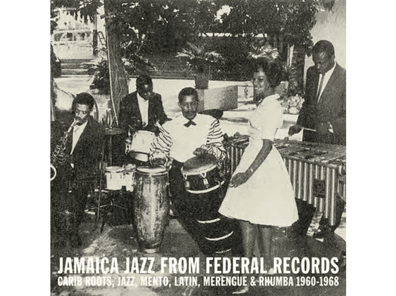 VARIOUS - Jamaica Jazz From Federal Records [CD]