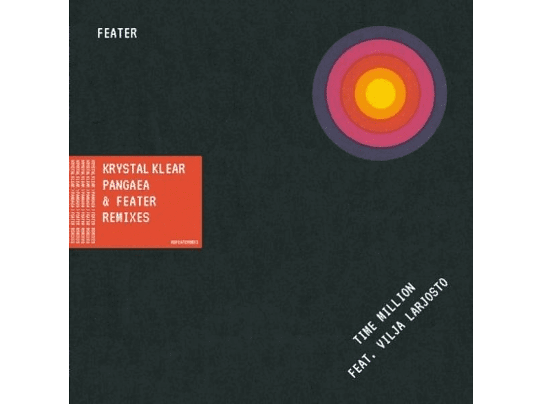 Feater - Time Million (Krystal Klear+Pangaea+Feater Rmxs) [Vinyl]