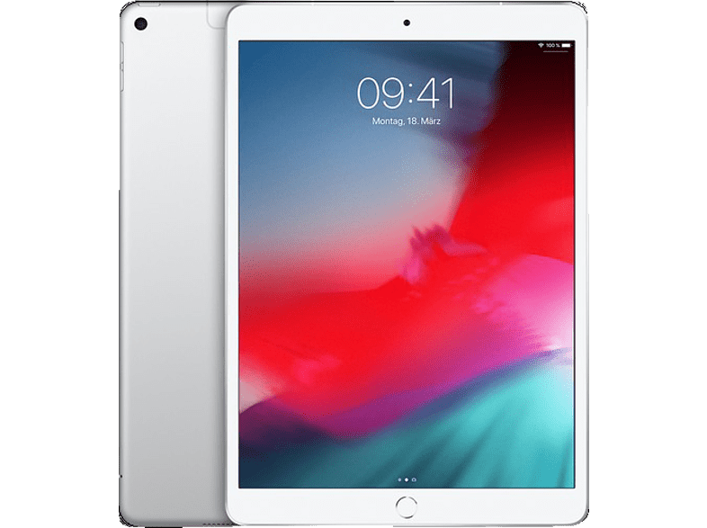 APPLE iPad Air (2019) Cellular, Tablet , 64 GB, 10.5 Zoll, Silber