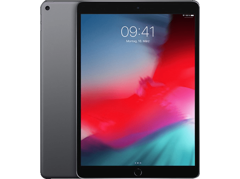 APPLE iPad Air (2019), Tablet , 256 GB, 10.5 Zoll, Space Grey