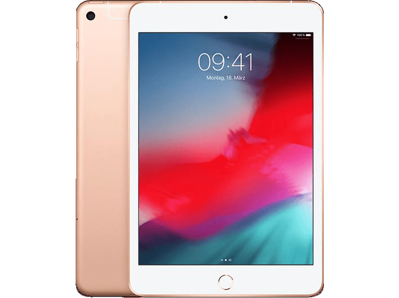 APPLE iPad mini (2019) WiFi + Cellular, Tablet , 64 GB, 7.9 Zoll, Gold