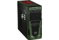 HYRICAN MILITARY GAMING 6327, Gaming-PC mit Core™ i9 Prozessor, 32 GB RAM, 480 GB SSD, 1 TB HDD, GeForce® RTX™ 2080 Ti, 11 GB
