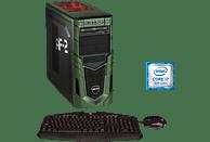 HYRICAN MILITARY GAMING 6324, Gaming-PC mit Core™ i7 Prozessor, 32 GB RAM, 480 GB SSD, 1 TB HDD, Geforce® RTX 2080 Ti, 11 GB
