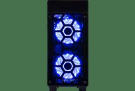 HYRICAN STRIKER-X 6283 BLUE, Gaming-PC mit Core™ i7 Prozessor, 16 GB RAM, 480 GB SSD, 1 TB HDD, Geforce® RTX 2070, 8 GB
