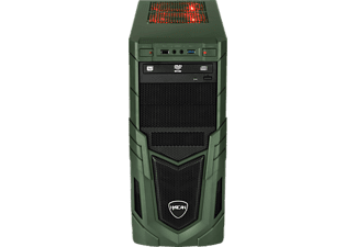 HYRICAN MILITARY GAMING 6323, Gaming-PC mit Core™ i7 Prozessor, 32 GB RAM, 480 GB SSD, 1 TB HDD, Geforce® RTX 2080, 8 GB