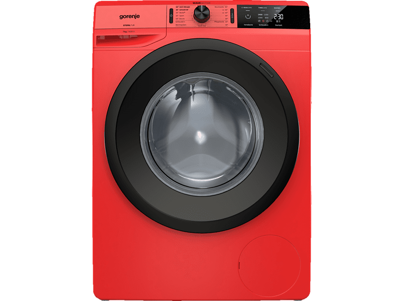 GORENJE WE 74S3PR Colour Edition Waschmaschine (7.0 kg, 1400 U/Min., A+++)