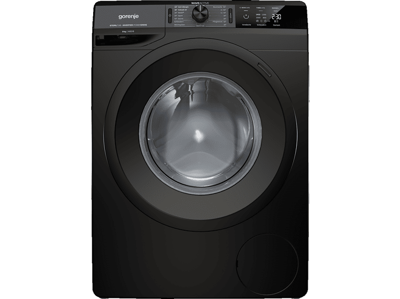 GORENJE WEI 843 PB Colour Edition Waschmaschine (8 kg, 1400 U/Min., A+++)