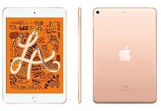 """Apple iPad mini (2019 5ª gen), 256 GB, Oro, WiFi + Cell, 7.9"""" Retina, 2 GB RAM, Chip A12 Bionic , iOS"""
