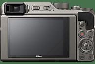 NIKON Coolpix A 1000 Kompaktkamera Silber, 16 Pixel, 35- fach opt. Zoom, TFT-LCD, WLAN