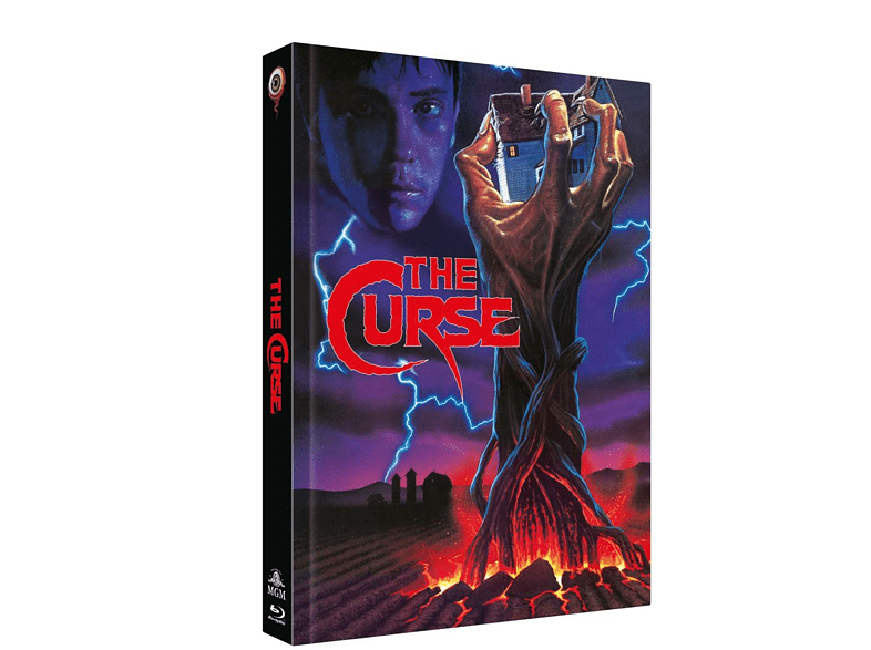THE CURSE (MEDIABOOK/+DVD) [Blu-ray]