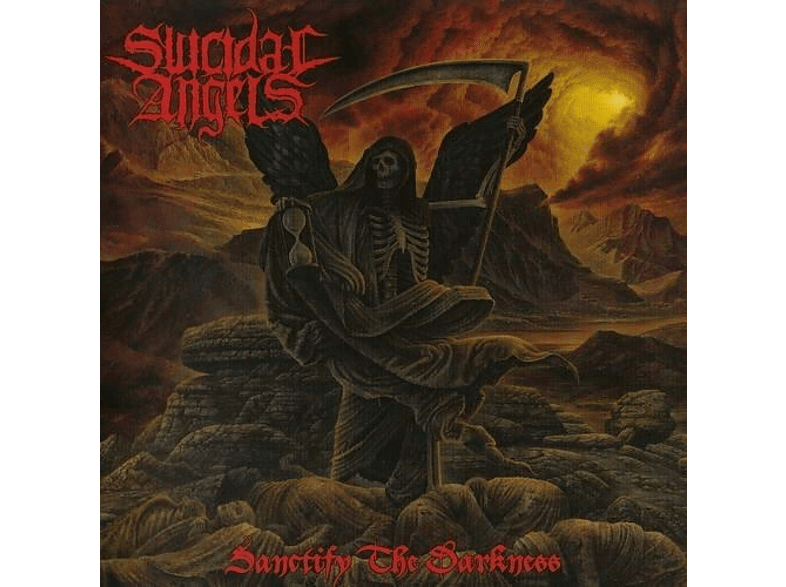 Suicidal Angels - Sanctify The Darkness (Ltd.GTF/Black Vinyl) [Vinyl]