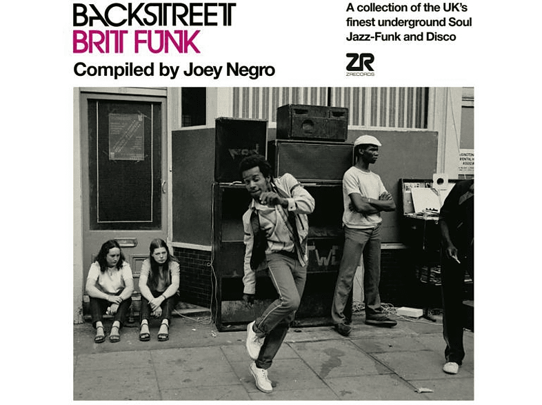 VARIOUS - Backstreet Brit Funk 1 [Vinyl]