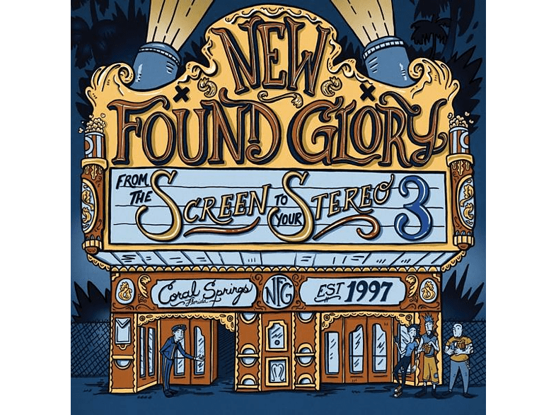 New Found Glory - From The Screen To Your Stereo Vol.3 [CD]