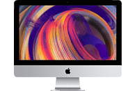 APPLE iMac MRT42D/A-149825 mit US-Tastatur, All-In-One PC mit 21.5 Zoll Display, Core i5 Prozessor, 8 GB RAM, 1 TB Fusion Drive, Radeon™ Pro Vega 20, Silber