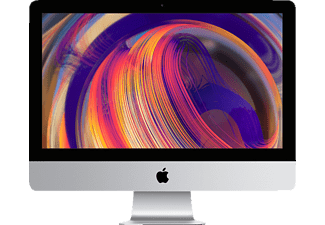 APPLE iMac MRT42D/A-149816 mit US-Tastatur, All-In-One PC mit 21,5 Zoll Display, Core i5 Prozessor, 8 GB RAM, 1 TB Fusion Drive, Radeon™ Pro 560X, Silber