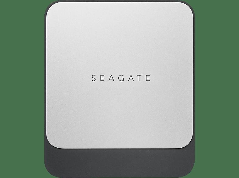SEAGATE Fast, 500 GB SSD, 2.5 Zoll, extern, Schwarz