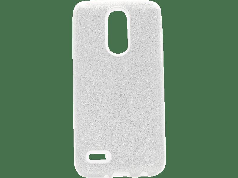 AGM 27719 Backcover LG K9 Polycarbonat Silber