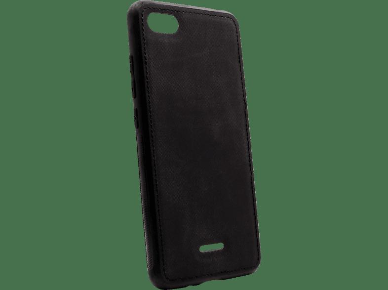 AGM 27854 Backcover Xiaomi Redmi 6A Silikon, Stoff Schwarz