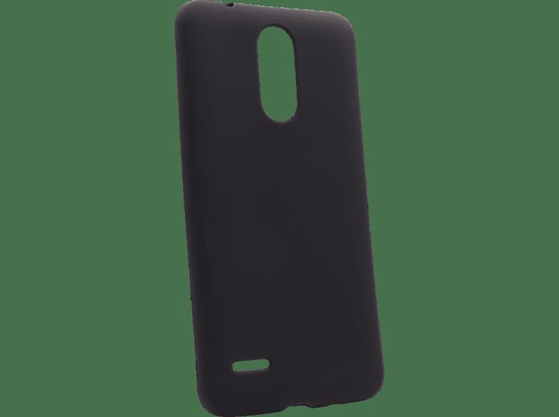 AGM 27789 Backcover LG K9 Thermoplastisches Polyurethan Schwarz