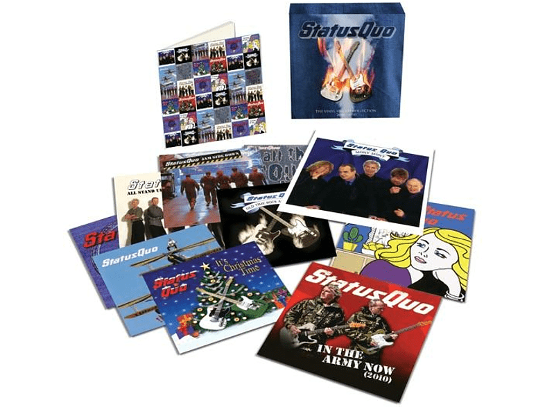 "Status Quo - The Vinyl Singles Collection: 2000?S (Ltd.7"" Box) [Vinyl]"